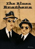 The Blues Brothers by MikiMikibo