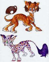 Lugou Adoptables 2 by TheSolitarySandpiper