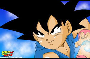 Goku Kid GT 2 by Sauron88