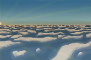 Cloud Study by Loona-Cry