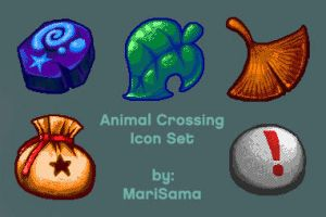 animal crossing icons by queenmari