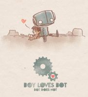Boy Loves Bot by unleveLedNate