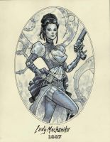 Lady Mechanika 1887 by MichaelDooney