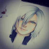 Kadaj Final Fantasy Advent Children by thumbelin0811