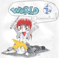 World Domination by im-a-happy-emo
