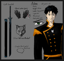 Aiden Character Sheet by Pen-Wizard
