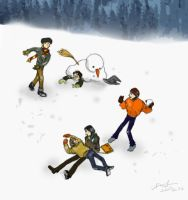 Marauders's snowball fight by metamorphism