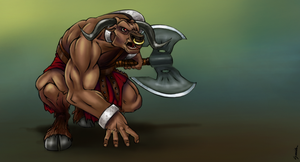 Minotaur by SmoothColor
