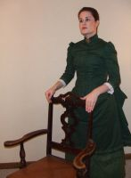 LadyRose04's 1883 Bustle Gown by HistoricCostume