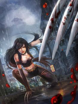X-23 fan art by jiuge