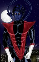 Nightcrawler under the moon by N-o-X-i-S18