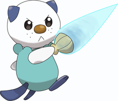 Oshawott by sicklequill8384