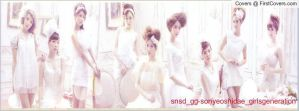 snsd  1st japan album Facebook cover 1 by alisonporter1994