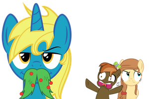 Holiday Stache by Kired25