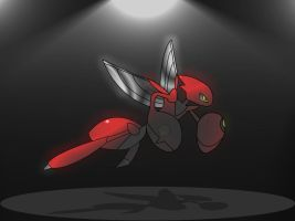 Scizor - Night Slash by BaseKillerWolf