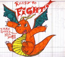 Dragonite by LugiaUmbreonPower
