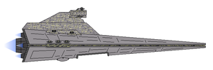 Star Wars KDY Tyranny-class Star Destroyer by Seeras