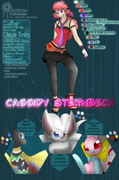 PDL - Pokemon Watcher: Cassidy Sternbeck by Alora-Of-Hearts