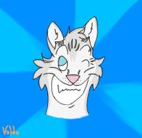 Abbey Cat - icon style by valdo-wolf