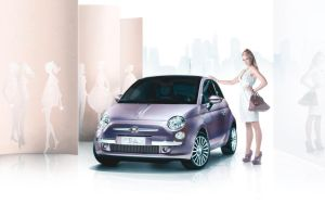 Fiat 500 Barbie Mod by theteethjumper
