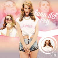 PNG Pack(289) Lana Del Rey by BeautyForeverr