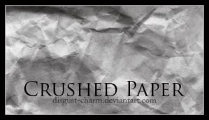Crushed Paper by disgust-charm