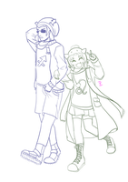 Nepeta n Equius line by zzpopzz