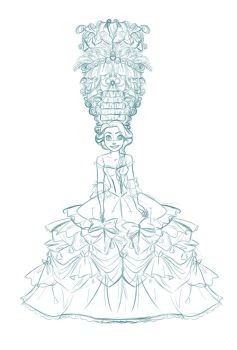Punzie Baroque-WIP by Nippy13