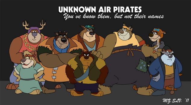 Unknow Air Pirates by mezasalvador