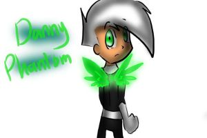 Danny Phantom With Wings by raygirl12