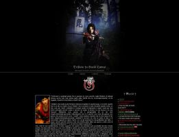 Tribute to Gackt Camui by StrangeParadise