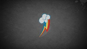 Rainbow Dash Wallpaper by Nothingall3n4