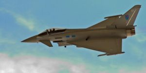 Eurofighter Typhoon by Hawkeye2011