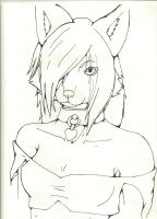 Pretty Girl - Uncolored by Miu-Misha