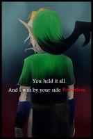Link's powerless by Christy58ying
