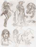 sketches by areve