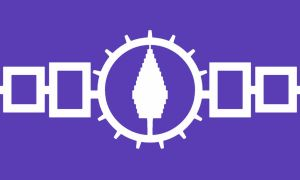 communist iroquois flag by NurIzin
