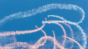RAF Falcons Parachute Team 2 by TPJerematic