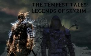 The Tempest Tales: Legends of Skyrim Cover by Terios117