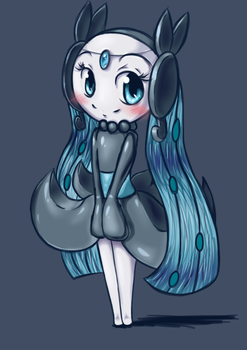 Meloetta Radiance Form by RequestFag