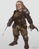 Female Dwarf Concept by nimoda