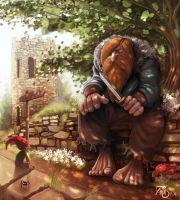 The Troll and the Gnome by Traaw