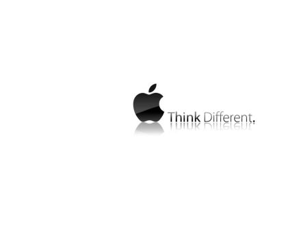 Wallpaper Apple Think by jetc21