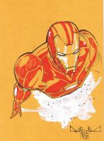 Ironman sketch 2 by qualano