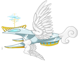 Angelic Class Casimir Airship by Thilath