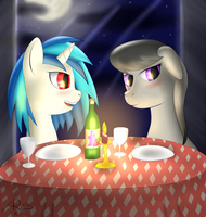 An Evening Together by srk-ares