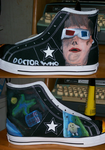 Doctor Who Shoes- Left by Night-Sky13