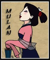 Mulan Matchmaker March Colour by SupaMeow