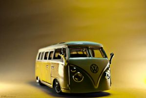 Green VW by Estranged89