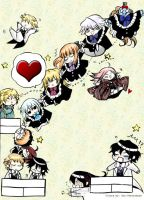 Pandora Hearts Characters by Our-Yesterdays
